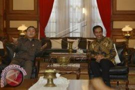 Pimpinan MPR Tiba di Rumah Dinas Jokowi