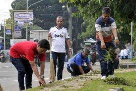 Diskominfo Bogor terjunkan tim gerakan Jumat Bersih