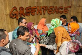 KUNJUNGI GREENPEACE INDONESIA