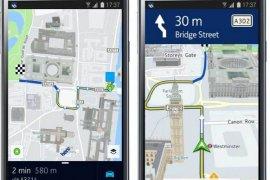 Aplikasi Nokia HERE Android di Google Play Tembus 1 Juta Kali Download