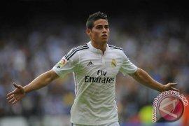 Pemain Real Madrid Rodriguez ditangkap polisi karena ngebut