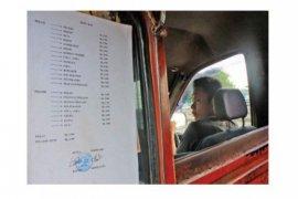 Dishubkominfo Karawang Pastikan Tarif Angkutan Umum Turun