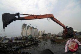 Babel Keruk Empat Kolam Retensi Cegah Banjir
