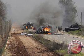 Tembakan artileri Israel gempur Lebanon