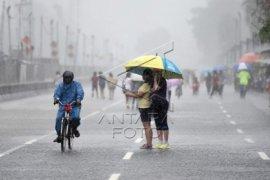 Hujan diprediksi akan guyur seluruh wilayah Jakarta hari ini