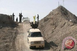 Tentara Irak, Milisi Syiah Serang IS di Utara Baghdad
