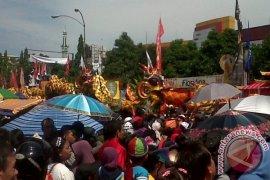 """Naga Pontianak Jalani Ritual """"Tutup Mata"""""""