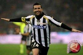 Udinese Hantam Torino 3-2, Delapan Tim Seri