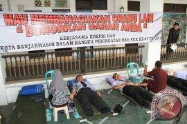 Donor Darah PKK Pemko Banjarmasin