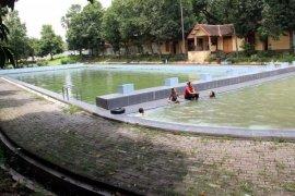 Objek Wisata Waduk Widas Madiun Sepi Pengunjung