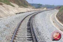 Pembebasan lahan jalur kereta api Jambi dimulai