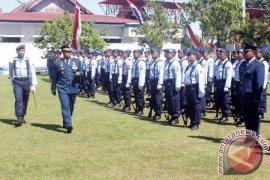 HUT TNI AU berlangsung Sederhana