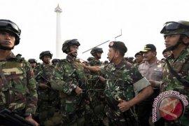 Panglima TNI Pimpin Apel Pengamanan KAA