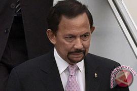 Sultan Brunei Hassanal Bolkiah jenguk Wiranto di RSPAD Gatot Soebroto