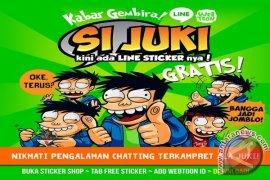 """Si Juki"" Stiker Karakter Lokal  Diunduh Sejuta Pengguna LINE"