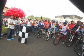 2.500 Peserta Ikuti Fun Bike Skadron Udara-8