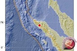 Gempa magnitudo 5,4 mengguncang Nagan Raya