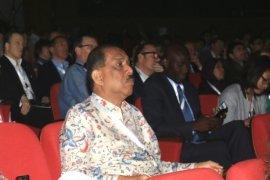 Walikota Ambon Antusias Mengikuti Pembukaan New City Summit 2015