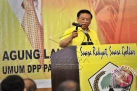 Agung Laksono lantik pengurus Golkar Bengkulu