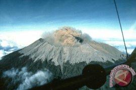 Gunung Raung keluarkan suara dentuman
