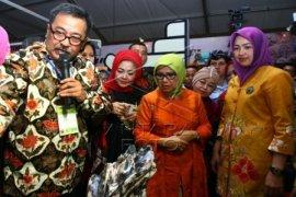 PLT Gubernur Banten Hadiri Pameran Produk Unggulan Harganas