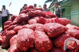 Pemkot Banda Aceh terima hibah 8,4 ton bawang merah