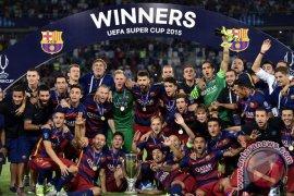 Pedro menjadi pahlawan Barca pada Piala Super Spanyol