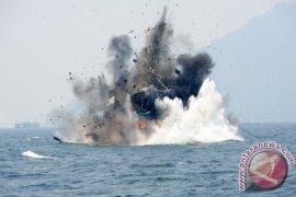 Pemusnahan KM Nelayan Asing