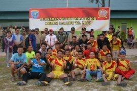 Turnamen Sepak Bola Junior Korem 121/Abw 2015 Berakhir