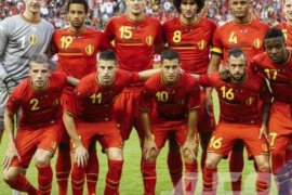 Brasil urutan kedua ranking FIFA