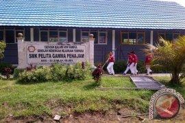 Didiskpora Cairkan Dana Bosda SMK Pelita Gamma