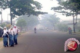 Sekolah di Jambi kembali diliburkan akibat asap