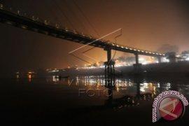 Objek wisata Jembatan Pedestrian ditutup sementara