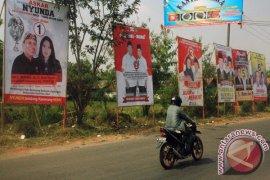 Alat peraga kampanye Bekasi dilarang di tempat ini