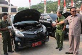 Dinas Sosial Banten Lakukan Pendataan Asset Kendaraan