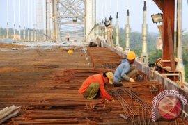 Pembangunan Jembatan Kartanegara Sudah 95 Persen