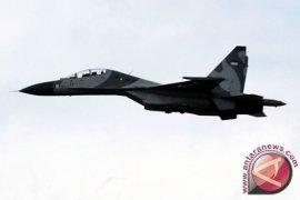 Dua Pesawat Sukhoi TNI AU Usir Pesawat Asing