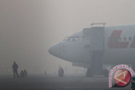 Maskapai jasa kargo merugi akibat kabut asap