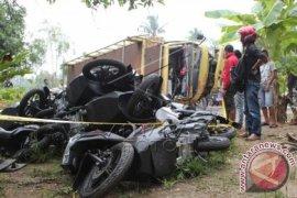 Tabrakan bus di Aceh Utara dua orang meninggal