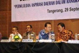 Gubernur Minta DPD RI Kawal Prioritas Pembangunan Banten
