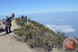 Ribuan Pendaki Rayakan Kemerdekaan di Gunung Lawu