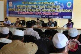 MPU Aceh Perbolehkan Vaksin Polio