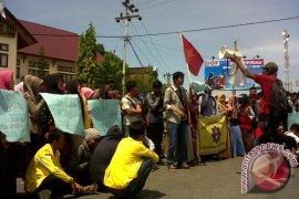 Mahasiswa UTU Aceh Barat Tolak Revisi UU KPK