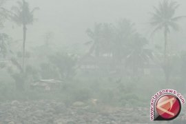 Kebakaran hutan Guntur tidak mengganggu jalur pendakian