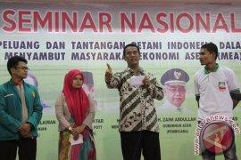 Menteri Pertanian Seminar Nasional di Aceh