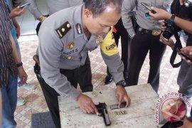 Penjagaan Mapolsek Padang Ulak Tanding diperketat
