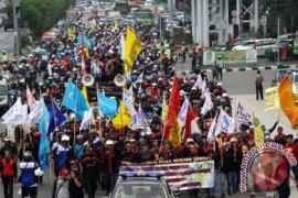 Aksi mogok nasional terkait RUU Cipta Kerja ditolak empat serikat buruh ini