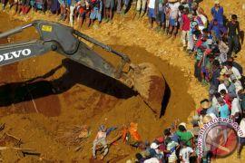 50 orang tewas tertimbun longsoran tambang giok di Myanmar