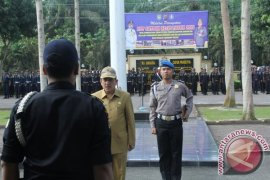 Pj Bupati Asahan Pimpin HUT Satpam ke 35