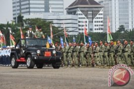 Panglima TNI Pimpin Apel Opsgaktib Di Monas